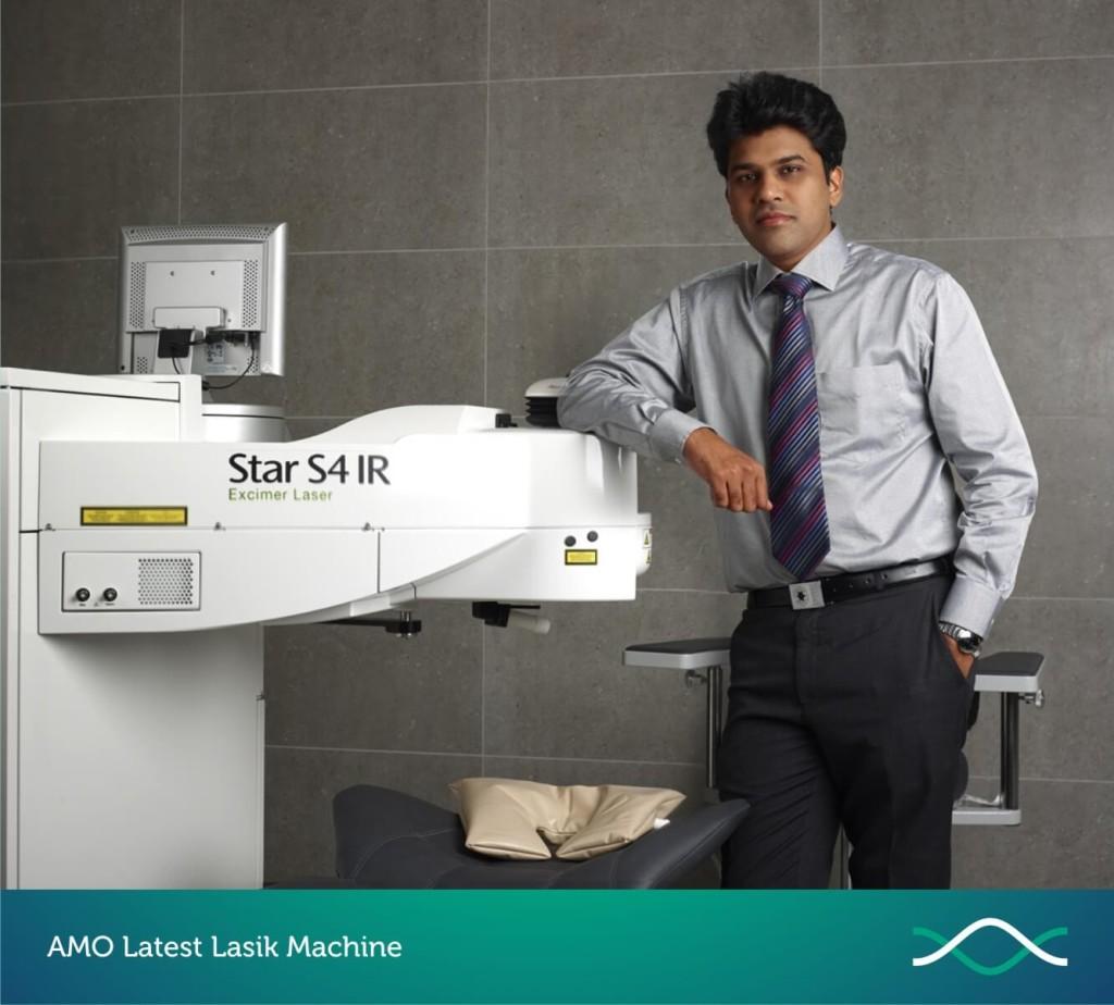 AMO Latest Lasik Machine